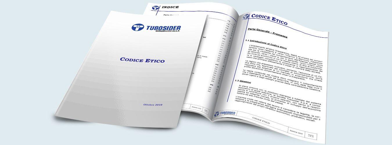 Tubosider, Codice Etico